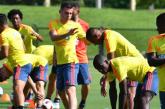 Día del Padre se tomó la Selección Colombia previo al partido ante Perú