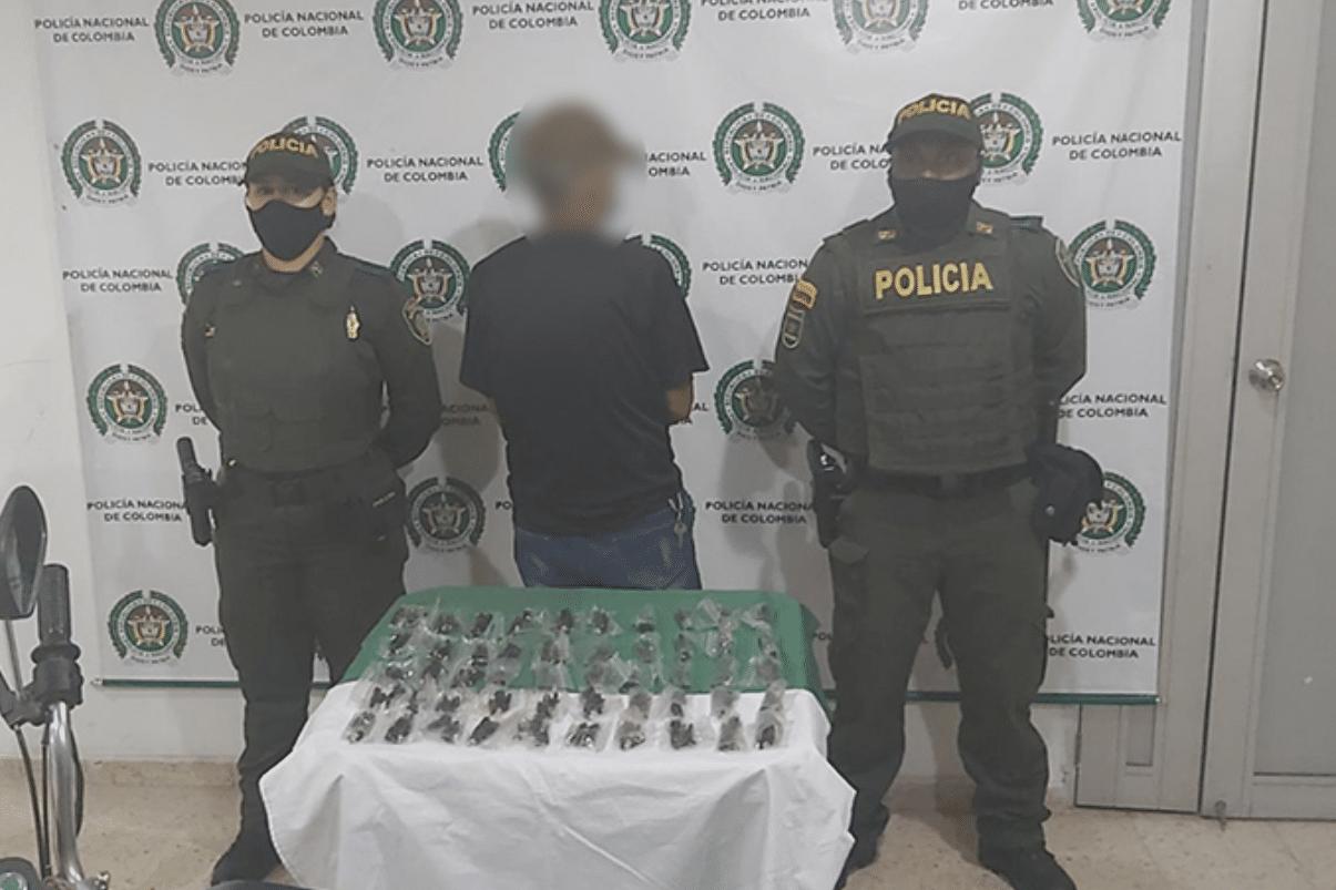 Capturado hombre que transportada 250 partes de fusiles en Cali