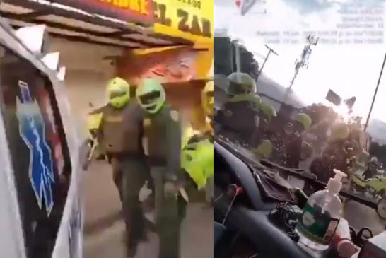 Aclaran versión sobre video que circula en redes sobre una ambulancia