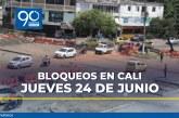 Aún quedan dos bloqueos en Cali: informe de movilidad para este jueves
