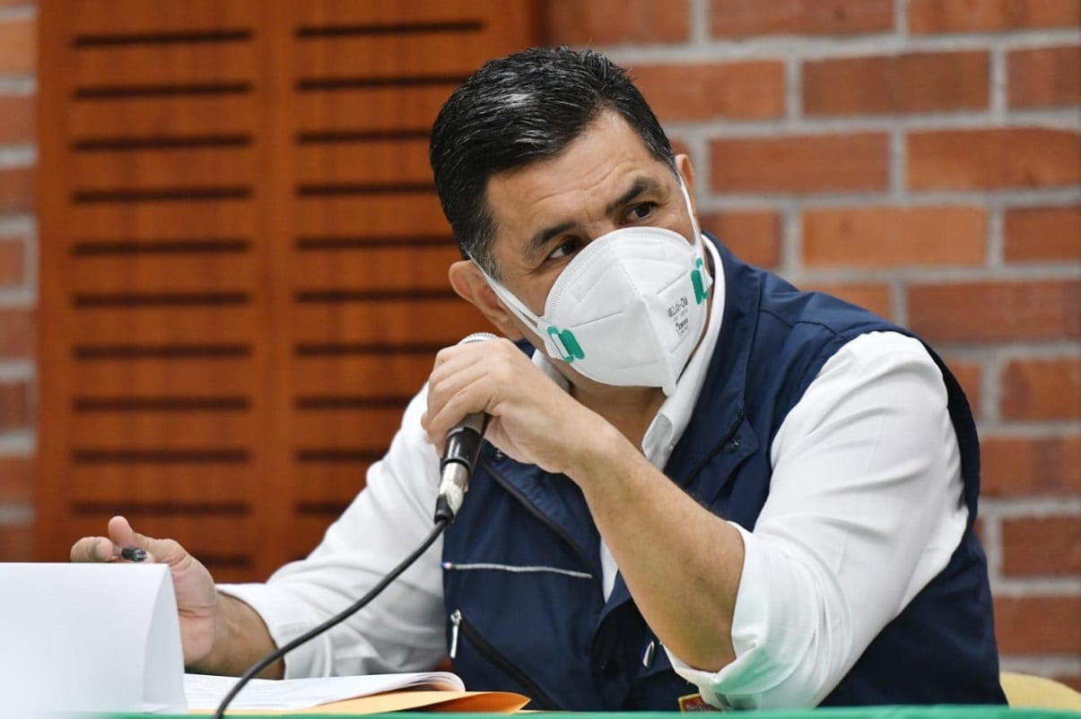 Ospina respondió a la denuncia en su contra ante la ONU