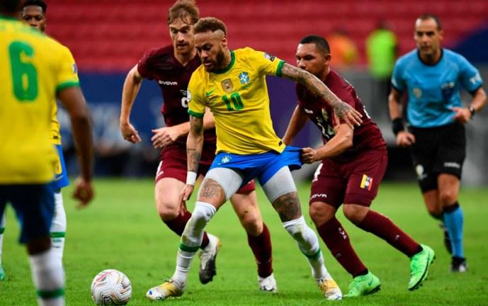 Suben a 52 casos de covid-19 detectados en Copa América de Brasil