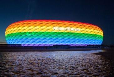 UEFA rechaza iluminación de estadio con colores de la bandera LGBTI