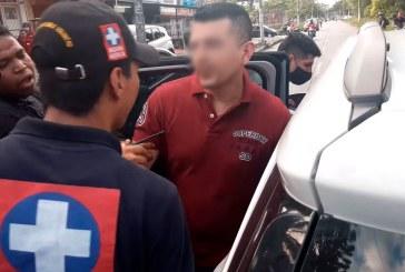Versiones encontradas por presunto secuestro de un Policía en punto de bloqueo