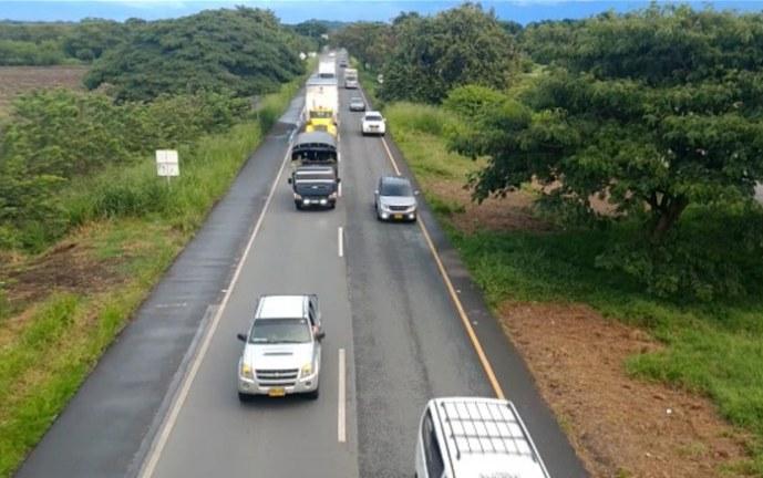 Las vías del Valle se encuentran en un 98% despejadas