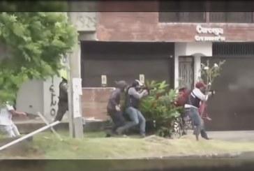 En video: civiles usaron armas de largo y corto alcance en enfrentamientos de Ciudad Jardín
