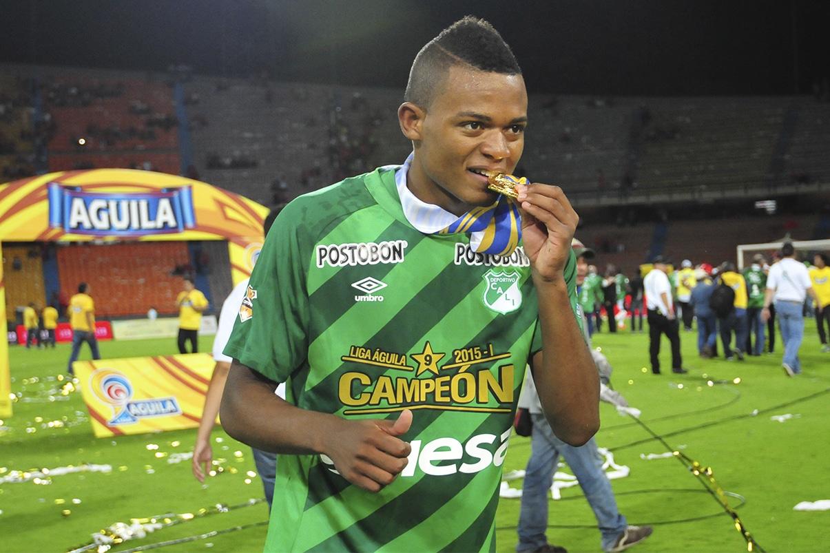 Se acabó la espera: el goleador Harold Preciado es oficialmente verdiblanco