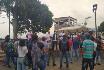 Alcaldía dará empleo a integrantes de la Unión de Resistencias de Cali