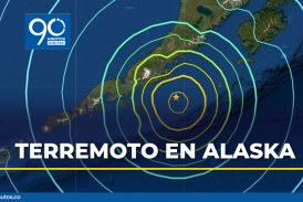Video: Cancelan alerta tsunami en Alaska tras terremoto de magnitud 8,2