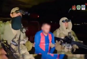 Capturado alias 'El Tigre Bladimir', presunto cabecilla del ELN