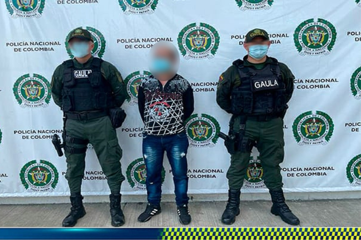 Cayó 'Pabló' encargado de financiar estructuras criminales en el Valle