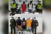 Capturan a seis personas que tenían azotados a los caleños por robos