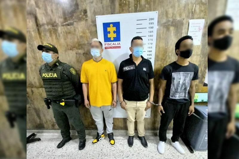 Cárcel para tres hombres que habrían asaltado en un café internet