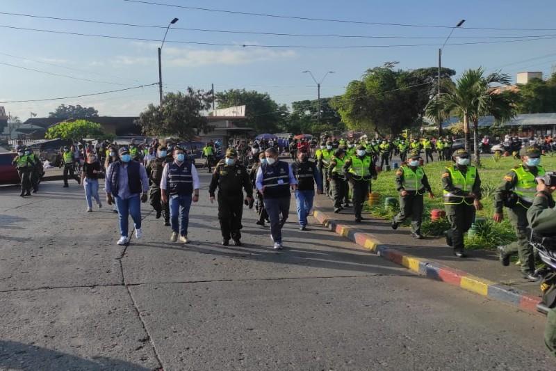 Comunidad de Siloé agradeció presencia de la Policía en ese sector