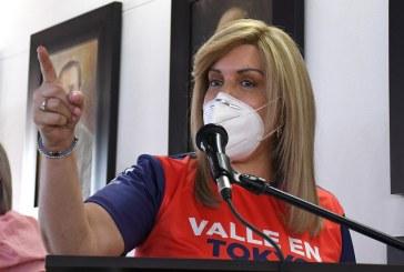 """""""En las noches no tiene por qué haber marchas"""": gobernadora del Valle"""