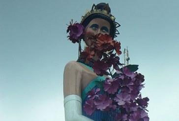 ¿Qué pasó con la estatua de Jovita Feijóo? fue pintada de negro