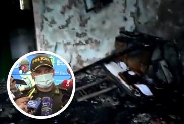 """Incendio de Inspección de Policía en Villacarmelo """"no fue accidental"""""""