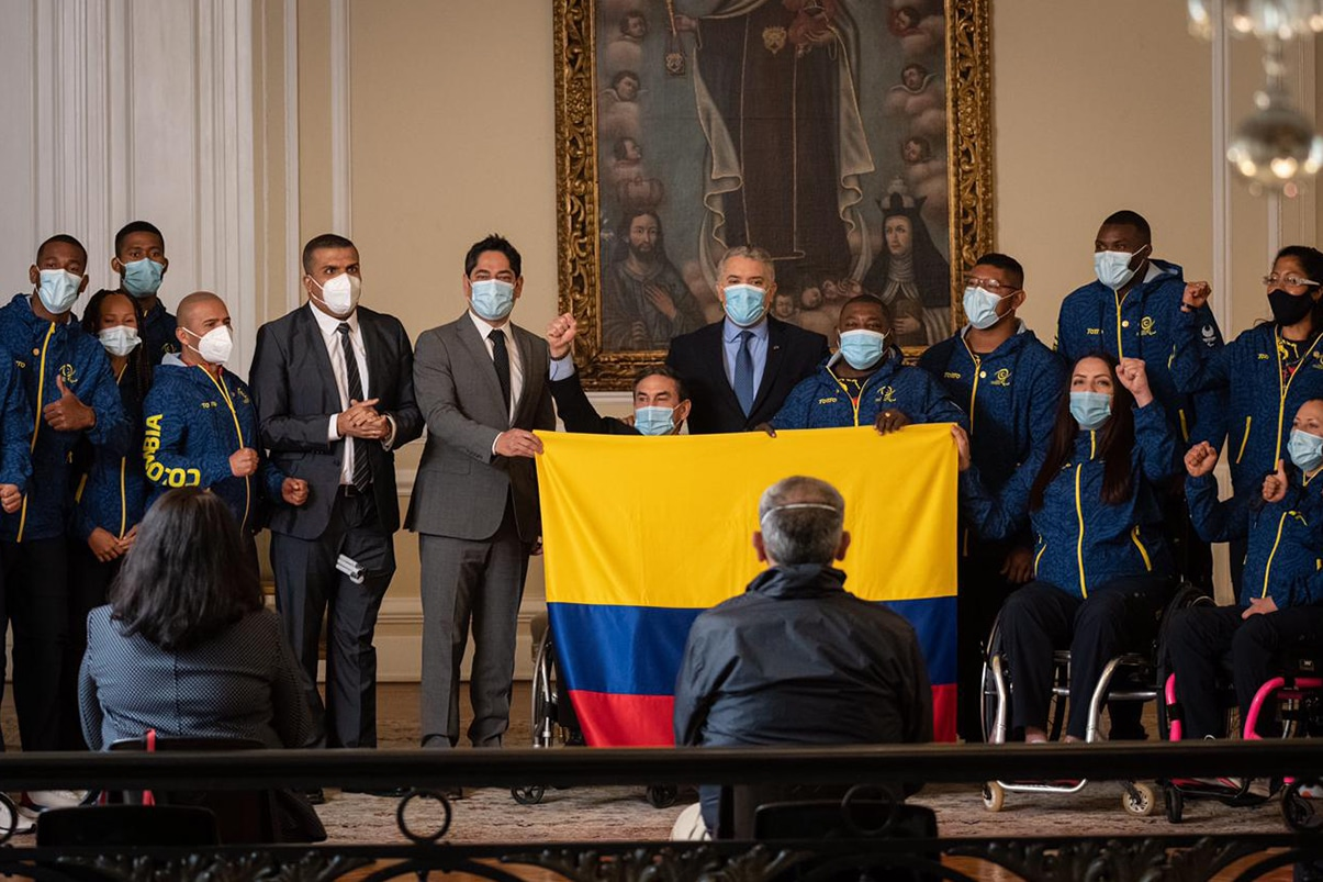 Iván Duque resaltó resiliencia y excelencia de deportistas paralímpicos