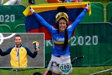 Mariana Pajón y Carlos Ramírez, medallistas Olímpicos que marcan historia