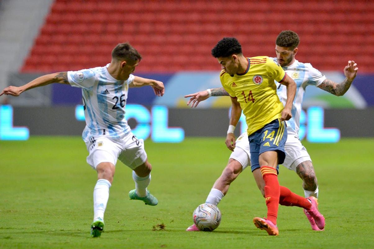 Los penales no favorecieron a Colombia: la final será entre Brasil y Argentina