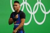Pesista Luis Javier Mosquera representará a Colombia en los Olímpicos de Tokio