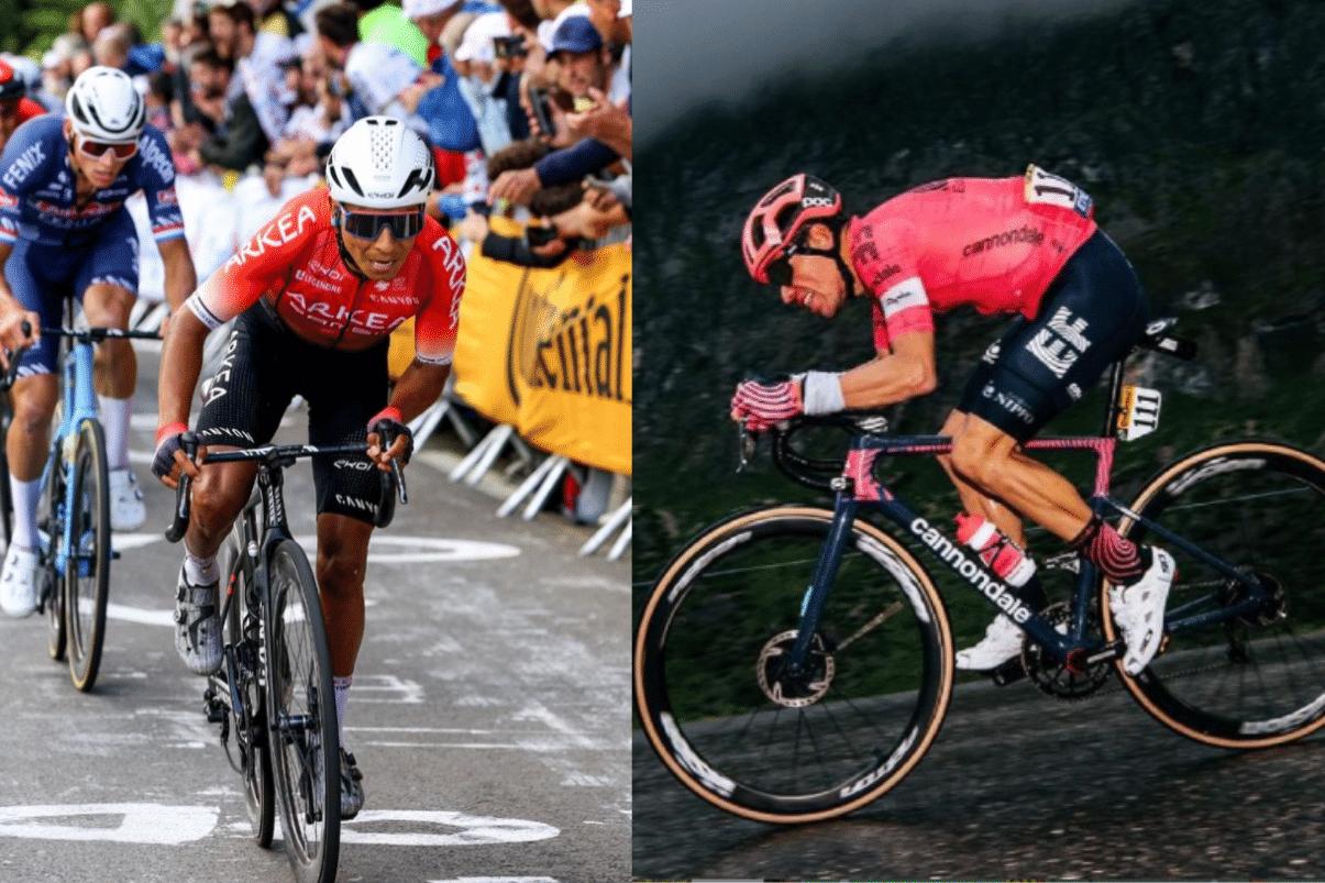 Tour de France: Nairo, líder de montaña y Rigo, tercero en la general