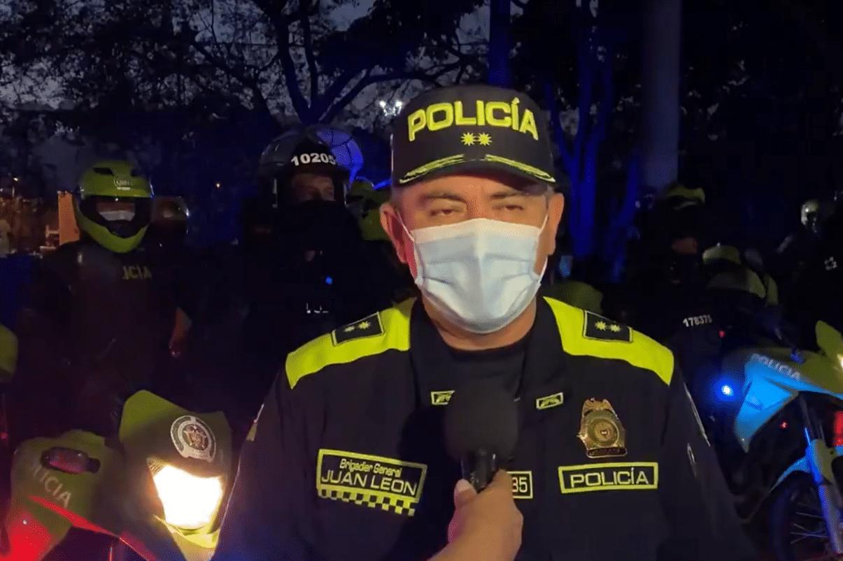 Policía dice que retenidos en Univalle no hacen parte de la institución
