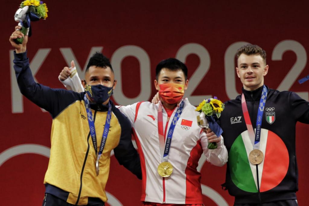 Vallecaucano Luis Javier Mosquera logró medalla de plata en los Olímpicos