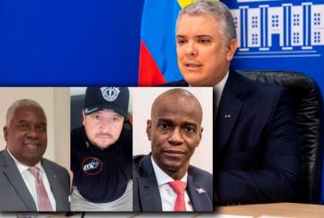 Presidencia desmiente encuentro entre Duque y reclutador involucrado en el asesinato del presidente de Haití
