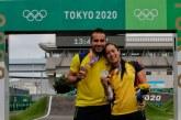 Plata y el bronce para Colombia en el BMX de los Juegos Olímpicos