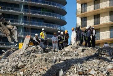 Dan fin a búsqueda de sobrevivientes del edificio que colapsó en Surfside