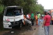 Trágico accidente de buseta en la Panamericana dejó 4 personas muertas