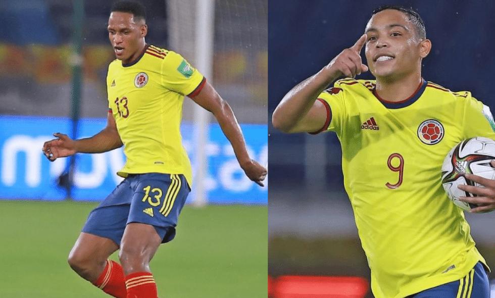 Yerry Mina y Luis Muriel desconvocados de la Selección Colombia