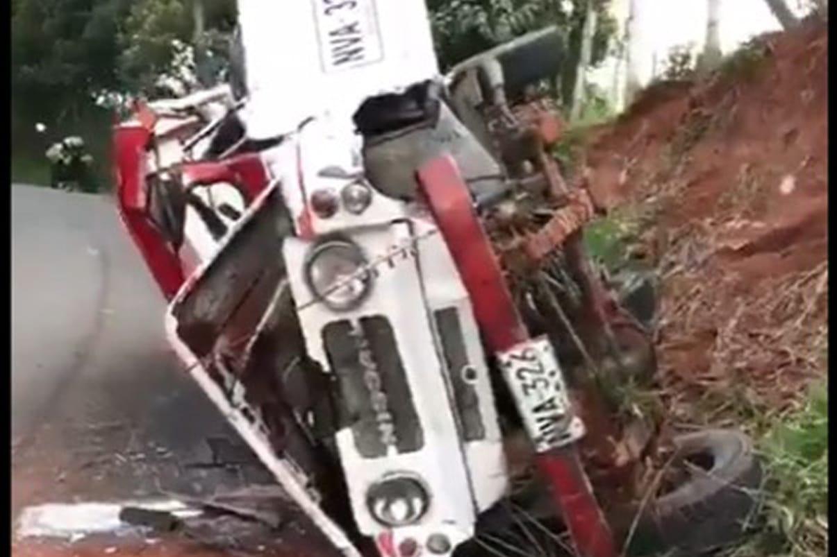 Accidente de campero dejó 18 personas heridas al sur de Cali