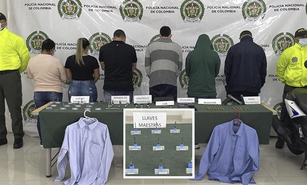 Banda 'Odisea' robaba en promedio 4 carros diarios en Cali: Fiscalía