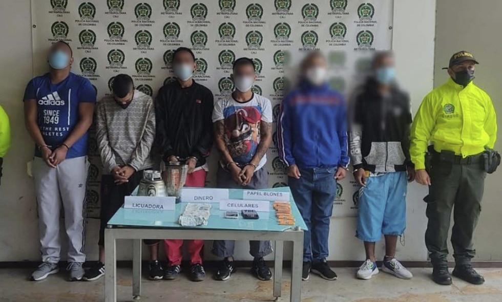 Caen 'Los de la 10': vendían 200 dosis diarias de alucinógenos en Yumbo