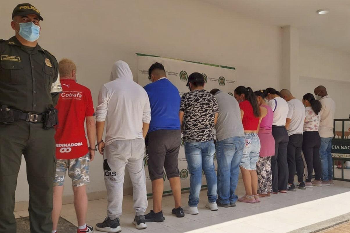 Capturados 'Los Lizimellos' por delitos de contrabando en el suroccidente