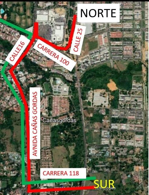 Pistas! A partir del lunes cerrarán la carretera Cali - Jamundi - Noticias de Colombia