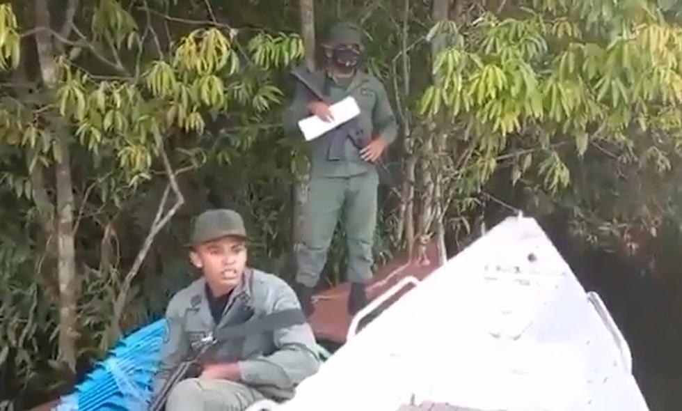Expulsan a miembros de Guardia Venezolana que ingresaron a Colombia