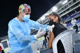 Megacentro de vacunación del estadio Pascual Guerrero cerrará más temprano por partido