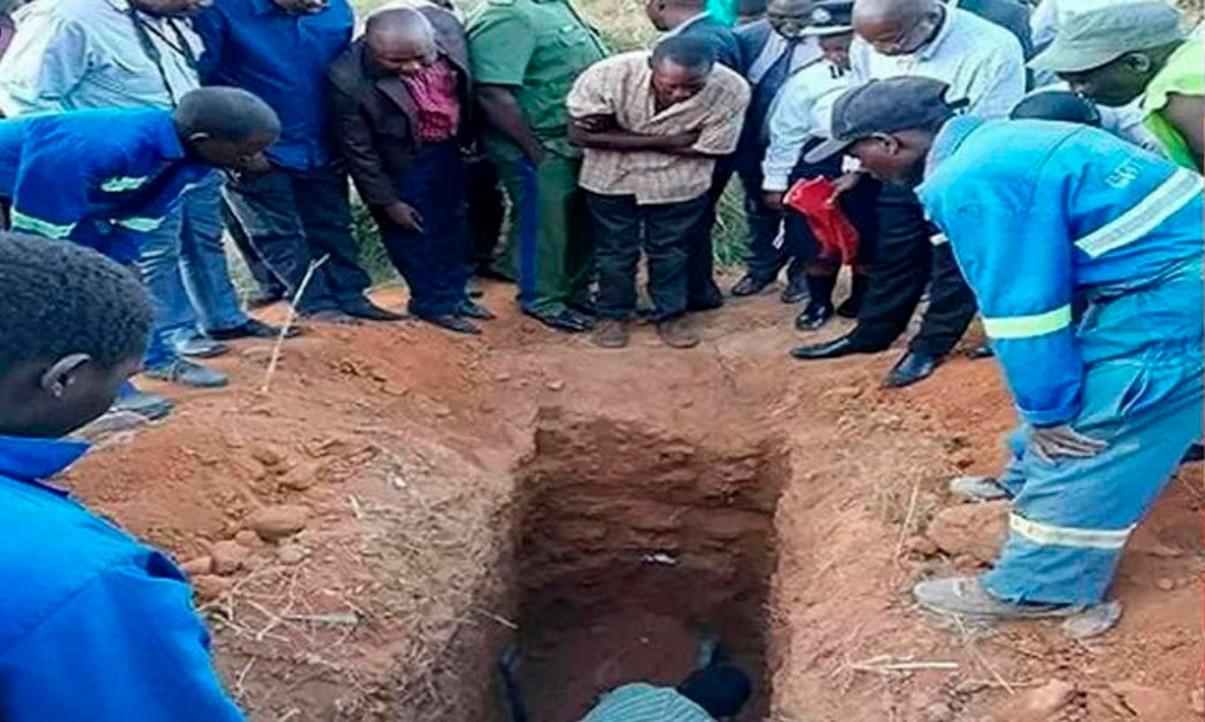 Pastor murió luego de enterrarse vivo queriendo ser 'Jesús de Nazaret'