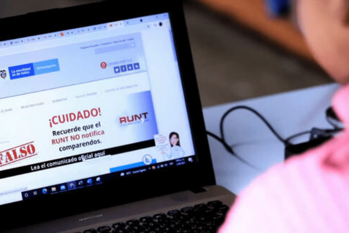 Ministerio de Transporte desmiente falsos comparendos a nombre del Runt