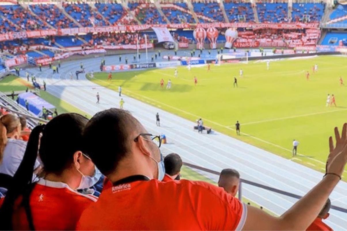 Regreso del fútbol al Pascual Guerrero dejó positivo balance, dicen autoridades