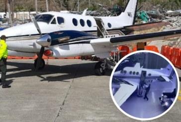 Revelan video en donde Policías estarían cargando avioneta con cocaína