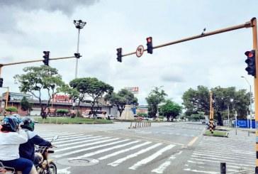 Sigue recuperación de semáforos destruidos durante el paro en Cali