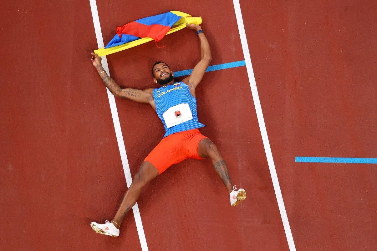 Zambrano pone la mira en los Olímpicos de París, Liga de Diamante y en récord