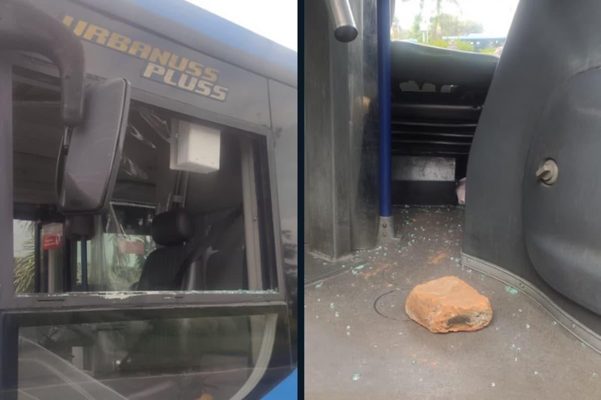 Vandalismo: 18 buses del Mío atacados y un conductor lesionado este fin de semana