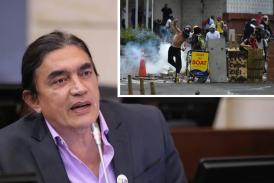 Procuraduría abre investigación contra Gustavo Bolívar por financiación de la primera línea