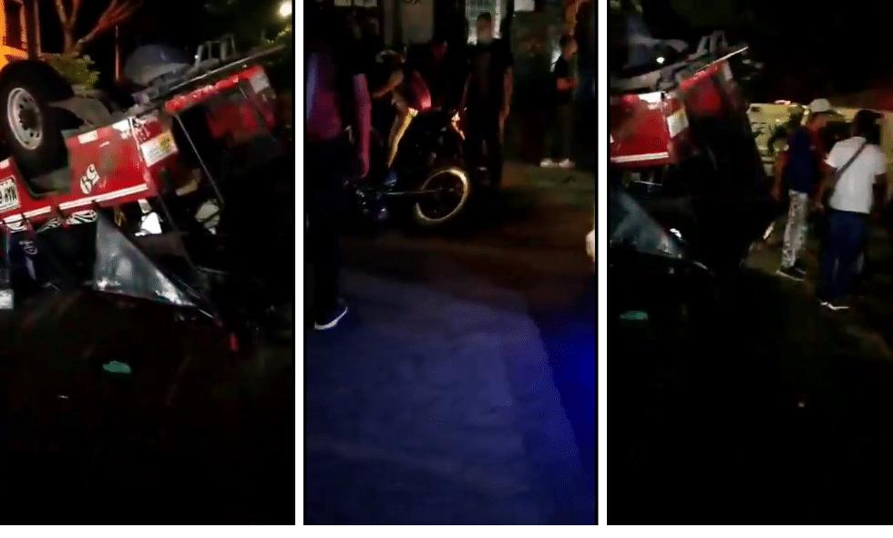 Accidente de tránsito en Cali dejó al menos 21 personas heridas