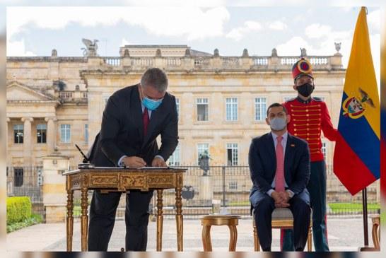 El presidente Duque firmó hoy la nueva reforma tributaria